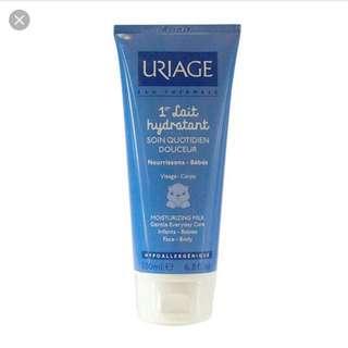 Uriage baby milk moisturizer