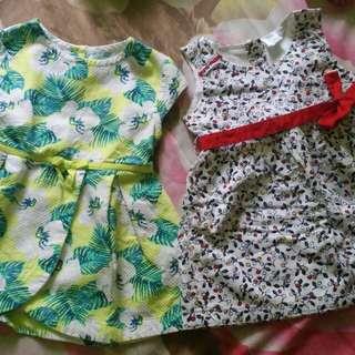 Branded baby girl's dresses