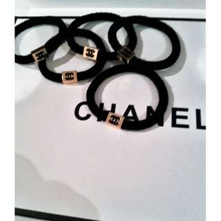 chanel vip gift hair tie