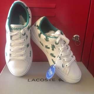 Lacoste Lerond 118 1 Cac Wht/Grn Cnv