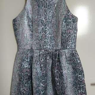Sportsgirl Metallic Dress