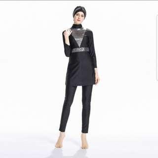 Muslimah turban swimwear preorder