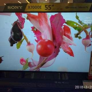 Sony LED KD-55X7000E Cukup Dp Tanpa Kartu Kredit Free 1X Cicilan