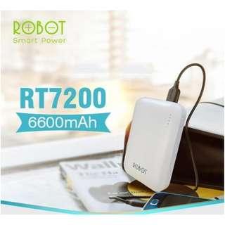 POWER BANK ROBOT RT7200 POWER BANK ROBOT 6600mAh