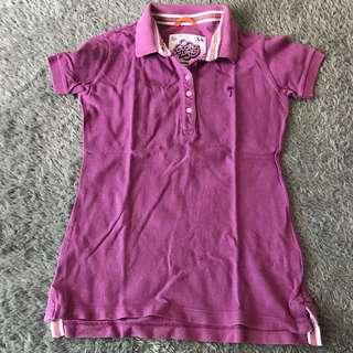 Coconut island polo shirt kaos