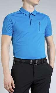 J. Lindeberg Slim Fit Jersey Shirt, Small in color Granite