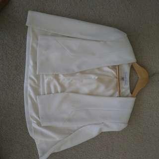 Forever new jacket white