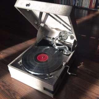 古董留聲機和配件