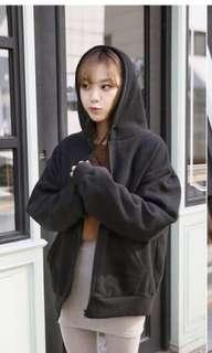 Brand new Zipped hoodie jacket