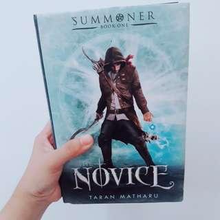 The Novice by Taran Matharu (HARDBOUND)