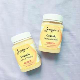 紐西蘭honeyganics有機檸檬花蜜500g