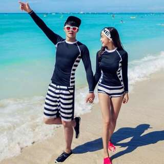 Couple rashguard