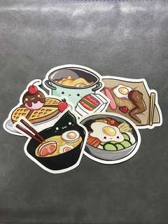 Cute Food Stickers
