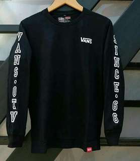 Baju Kaos Vans (Long Sleeve)