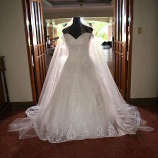 Rushhhh Pre Loved Wedding Gown
