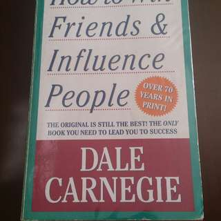 Preloved book by Author Dale Carnegie