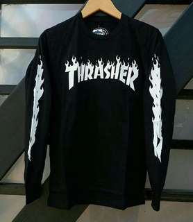 Baju Kaos Thrasher (Long Sleeve)