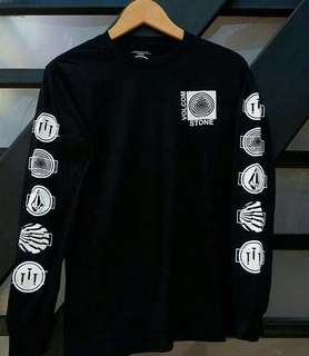 Baju Kaos Volcom (Long Sleeve)