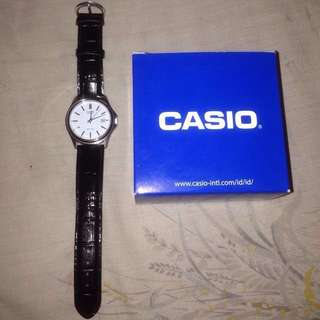 Casio leather original
