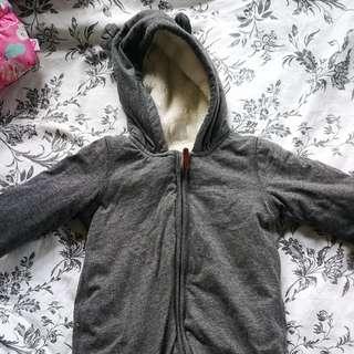 NWOT HM winter wear 2-4m
