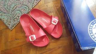 Birkenstock size 7 almost new with box used once