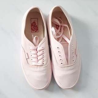 Millenial Pink Vans Sneakers