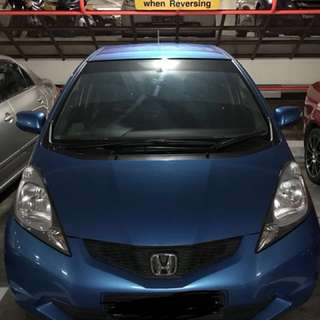 Honda Fit Rental for Personal Usage