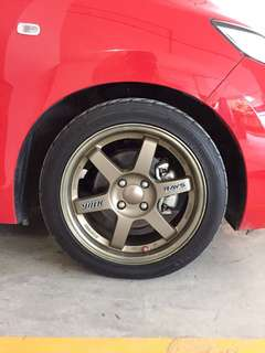 rims with tires 16'