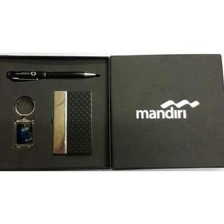 Paket Gift set 3in1 pen montblanc