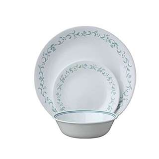 Corelle Livingware 18-Piece Dinnerware Set, Country Cottage, Service for 6