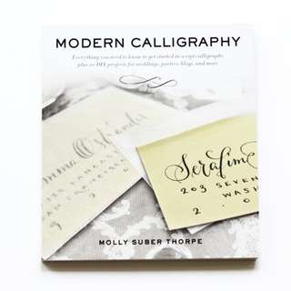 Modern Calligraphy Molly Suber Thorpe