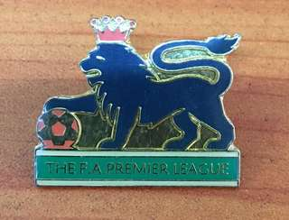 Collectibles...Vintage THE F.A PREMIER LEAGUE FOOTBALL CLUB PIN