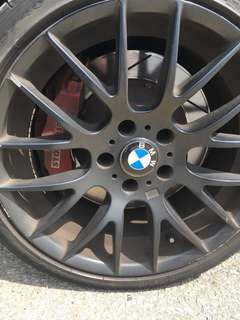 Stoptech ST60 with 345mm rotor (BMW E90)