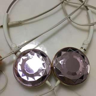 JVC HA SP70 粉紅 鑽 晶 石 耳機 耳筒 earphone headphone