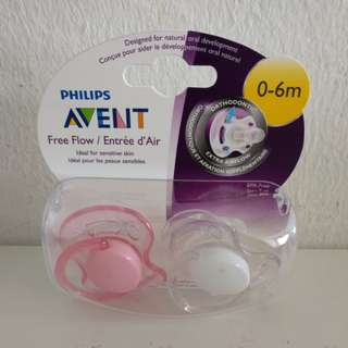 Avent Free Flow Orthodontic Pacifier