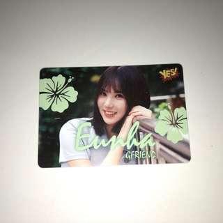 Gfriend Yes!Card 第26期 夜光 Eunha