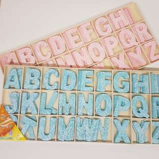 Decorative Wooden Alphabets