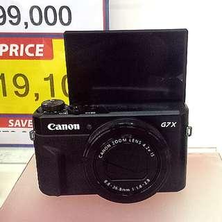Tanpa DP Canon PSG7X Mark II Kredit Gratis 1x angsuran
