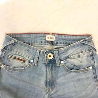 Tommy Hilfiger 低腰修身牛仔褲