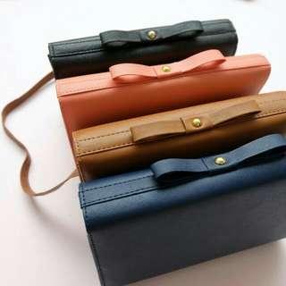 Bow clutch/siing bag/tas slempang