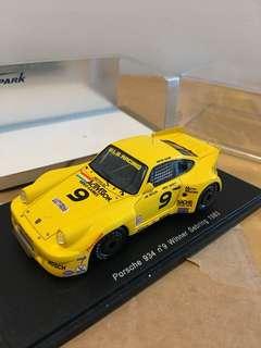 1/43 Porsche 934 #9. Winner Sebring 1983. Spark
