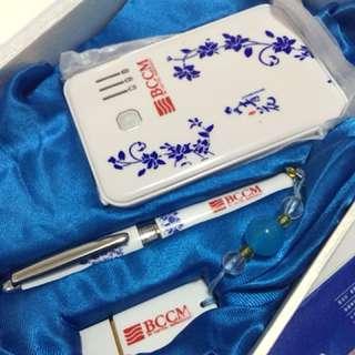 商務套裝 - 充電寶+4GB快盤+原子筆