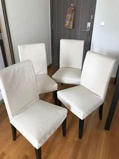 IKEA Dining Chairs (For 4)