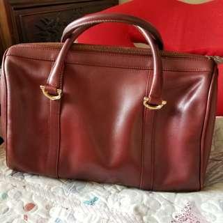 正貨Vintage Cartier 手袋