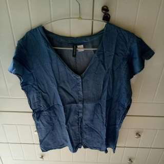 H&M Denim Top