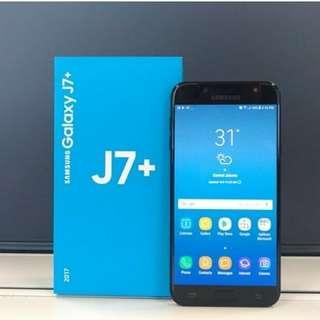 Handphone Samsung J7 Plus .