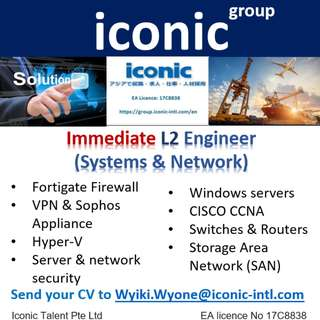 L2 systems & network Engineer