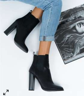 Lipstick Penny boot size 8