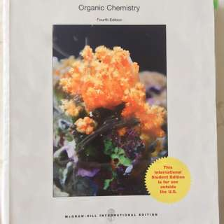 Organic Chemistry (4th edition) by Janice Smith