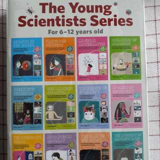Science books. 6 to 12 yrs